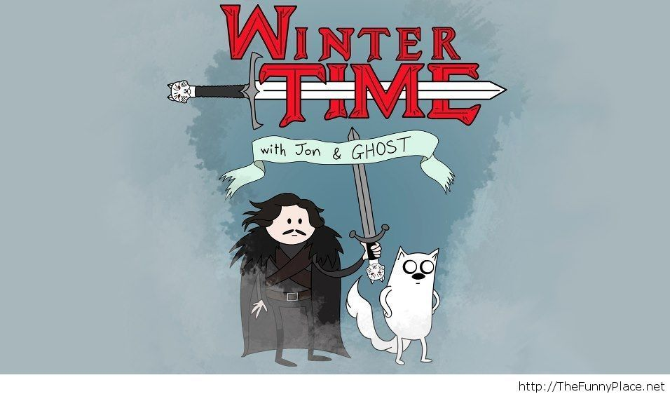 Winter time wallpaper funny