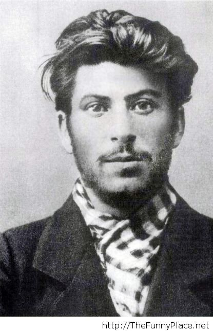 Young Stalin was one handsome...