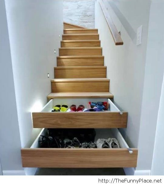 A space saver, a great idea!