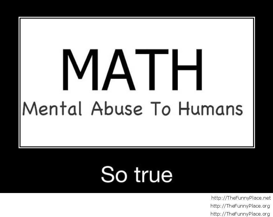 About math..