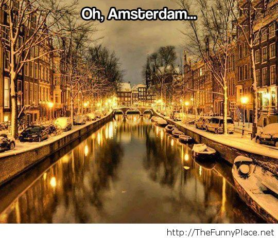 Amsterdam these days