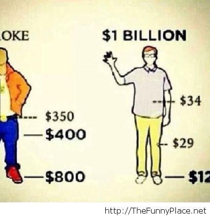 Broke vs Billionaires