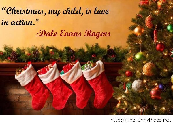 Christmas image quote