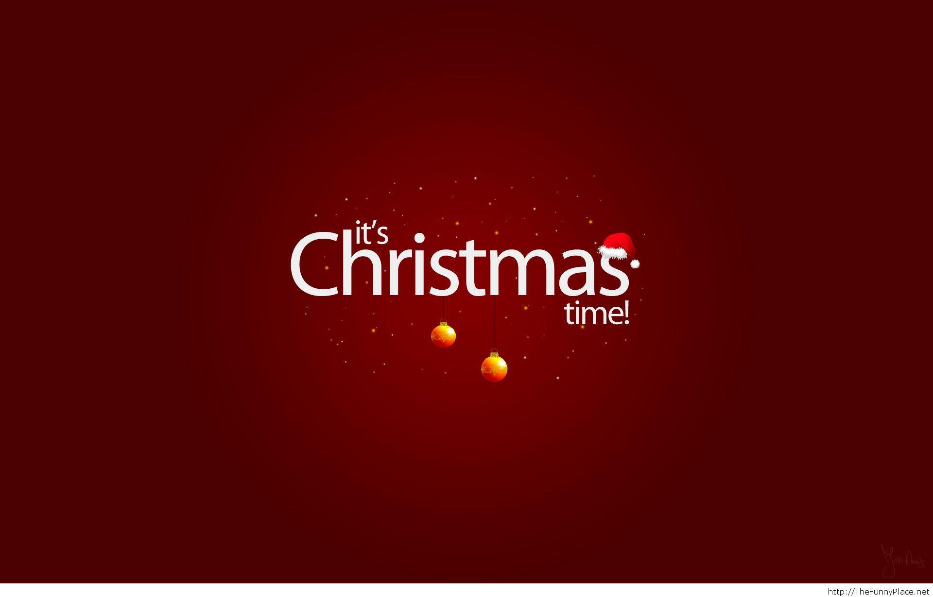 Christmas time HD wallpaper