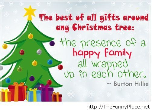 Christmas tree quote
