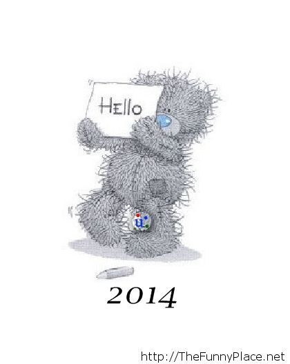 Cute hello 2014
