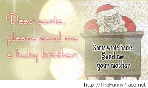 Dear santa quote
