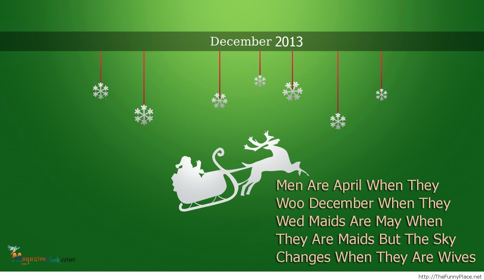 December 2013 new funny quote