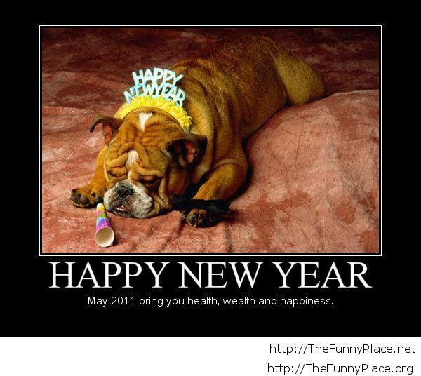 Demotivational happy new year