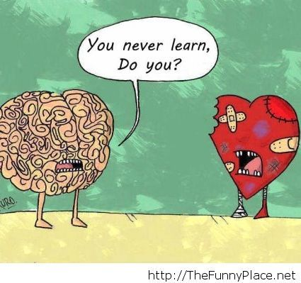 Do you never learn