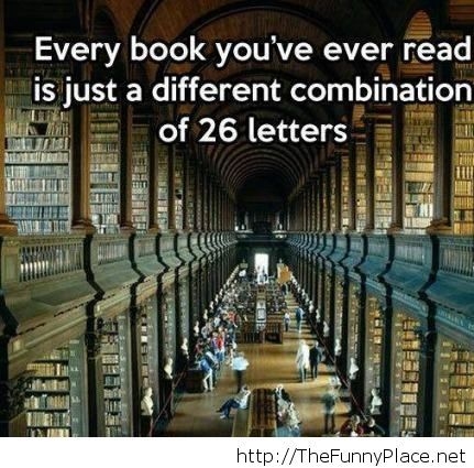 Every book you ever read