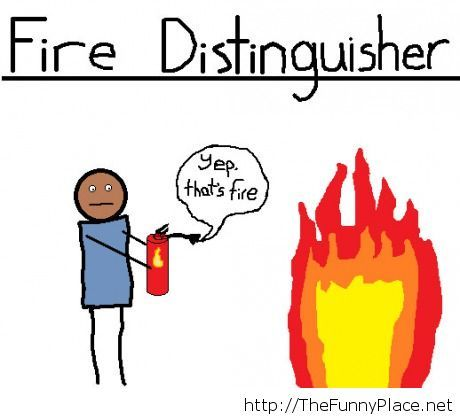Fire ditinguisher comics