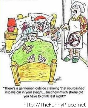 Funny Christmas cartoon 2013