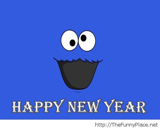 Funny Happy New Year 2014 Wallpaper