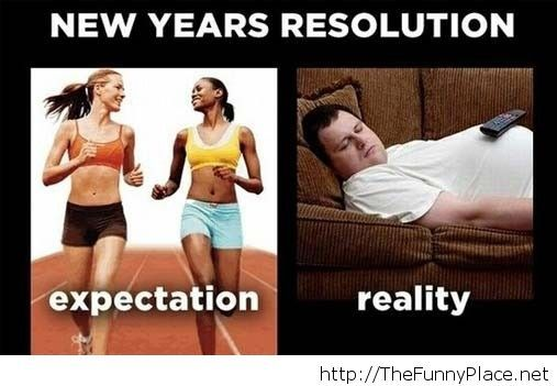 Funny new year resolution 2014