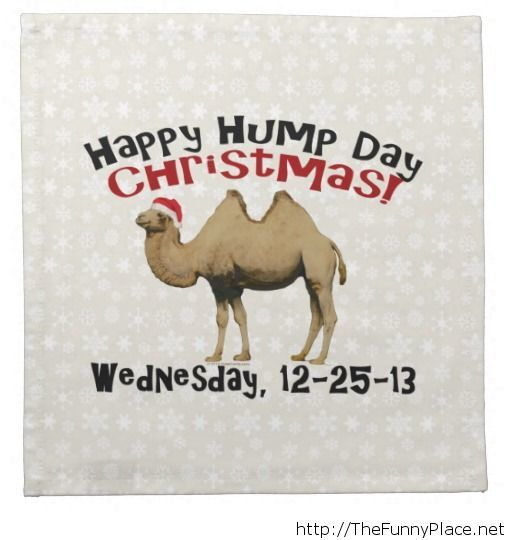 Happy hump day Christmas 25 12 2013
