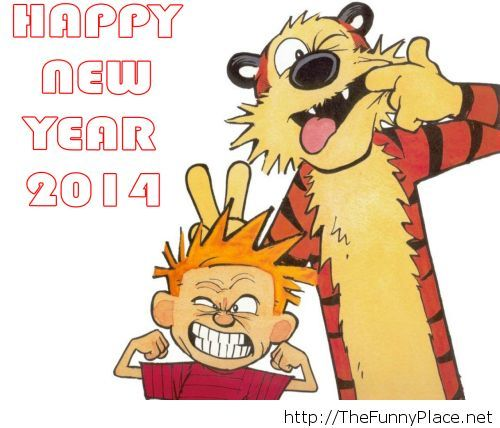 Happy new year 2014 funny photo
