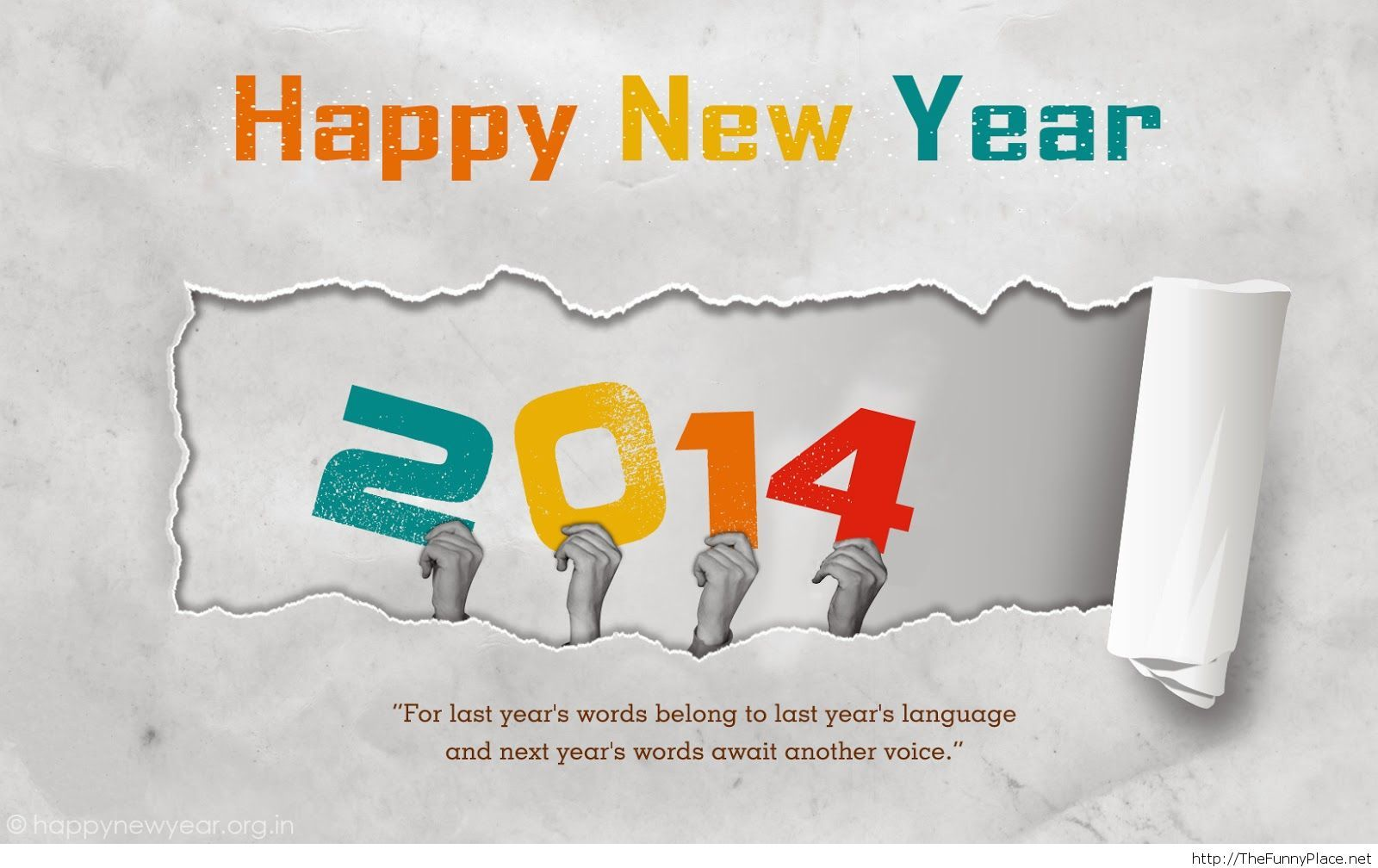 Happy new year 2014 quote – TheFunnyPlace