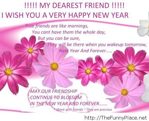 happy new year 2014 sms friend