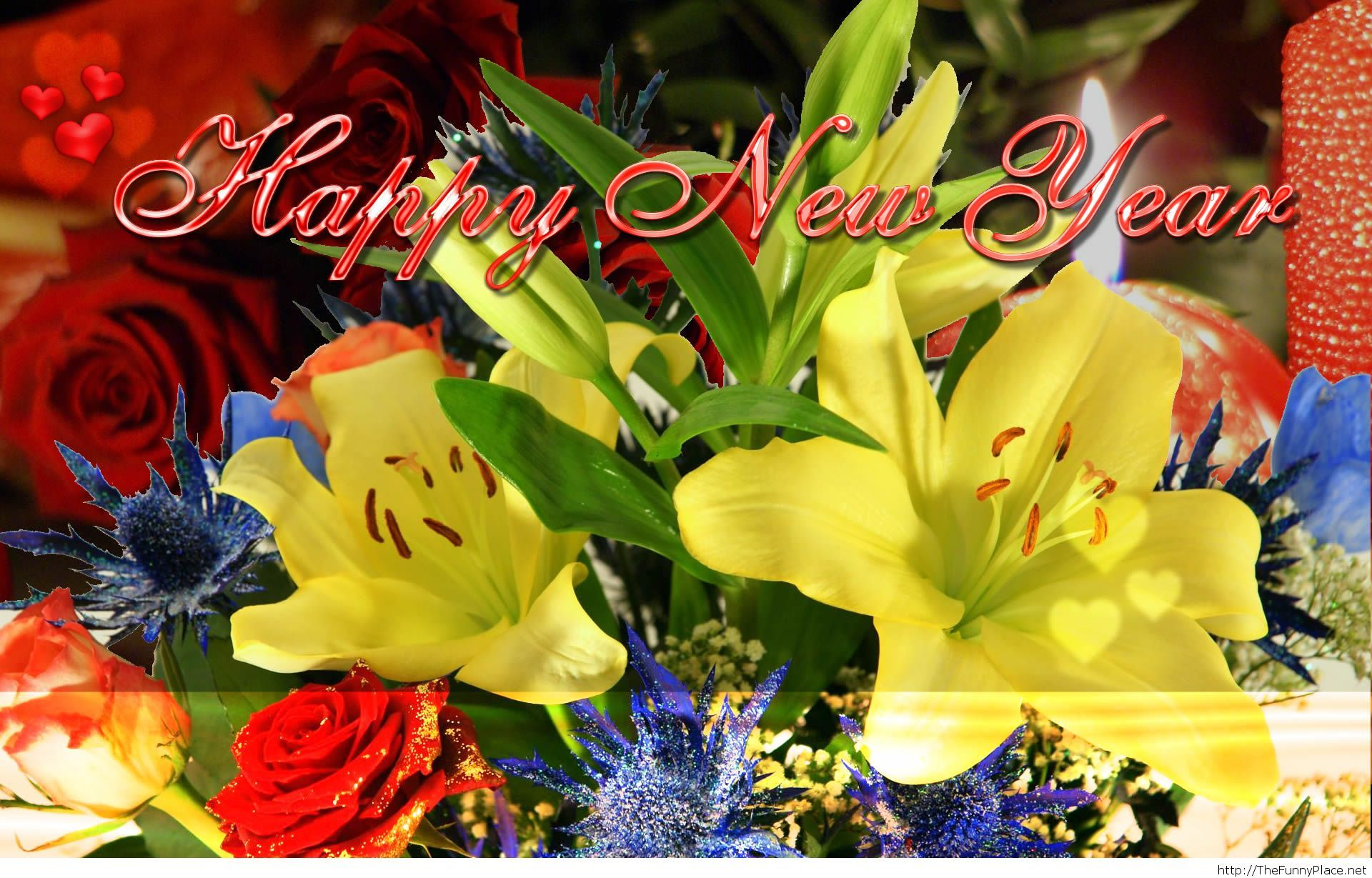 Happy new year 2014 with wallpaper