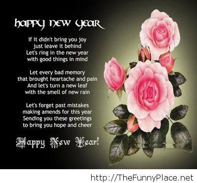 Happy new year love quote