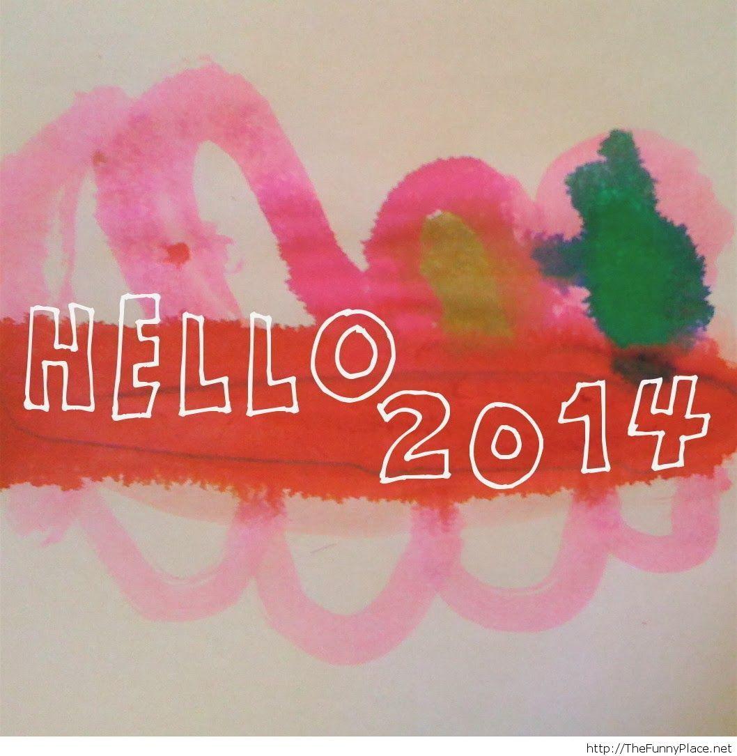 Hello 2014 image