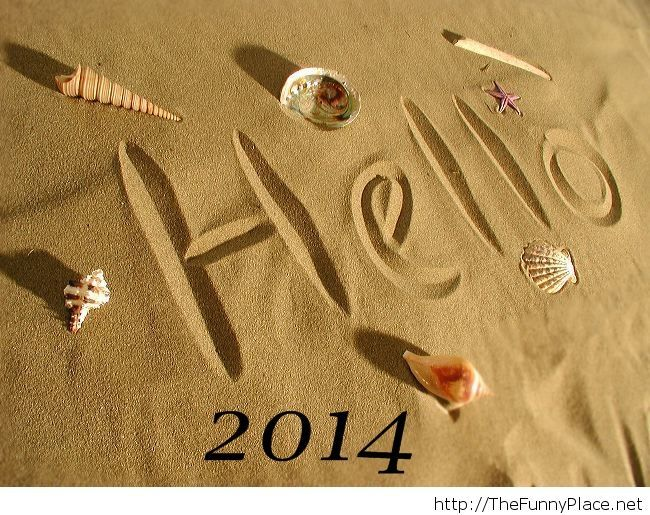 Hello 2014 picture saying wallpaper