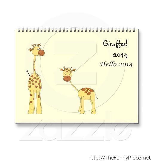 Hello Giraffes 2014