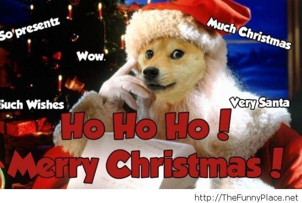 ho ho ho merry christmas image - Hohoho Merry Christmas