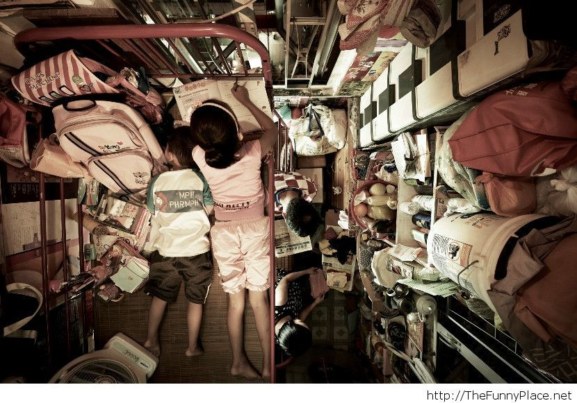 How people live in Hong Kong