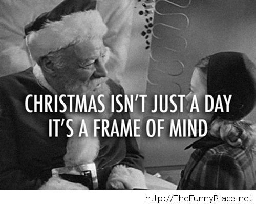 Its Christmas today quote