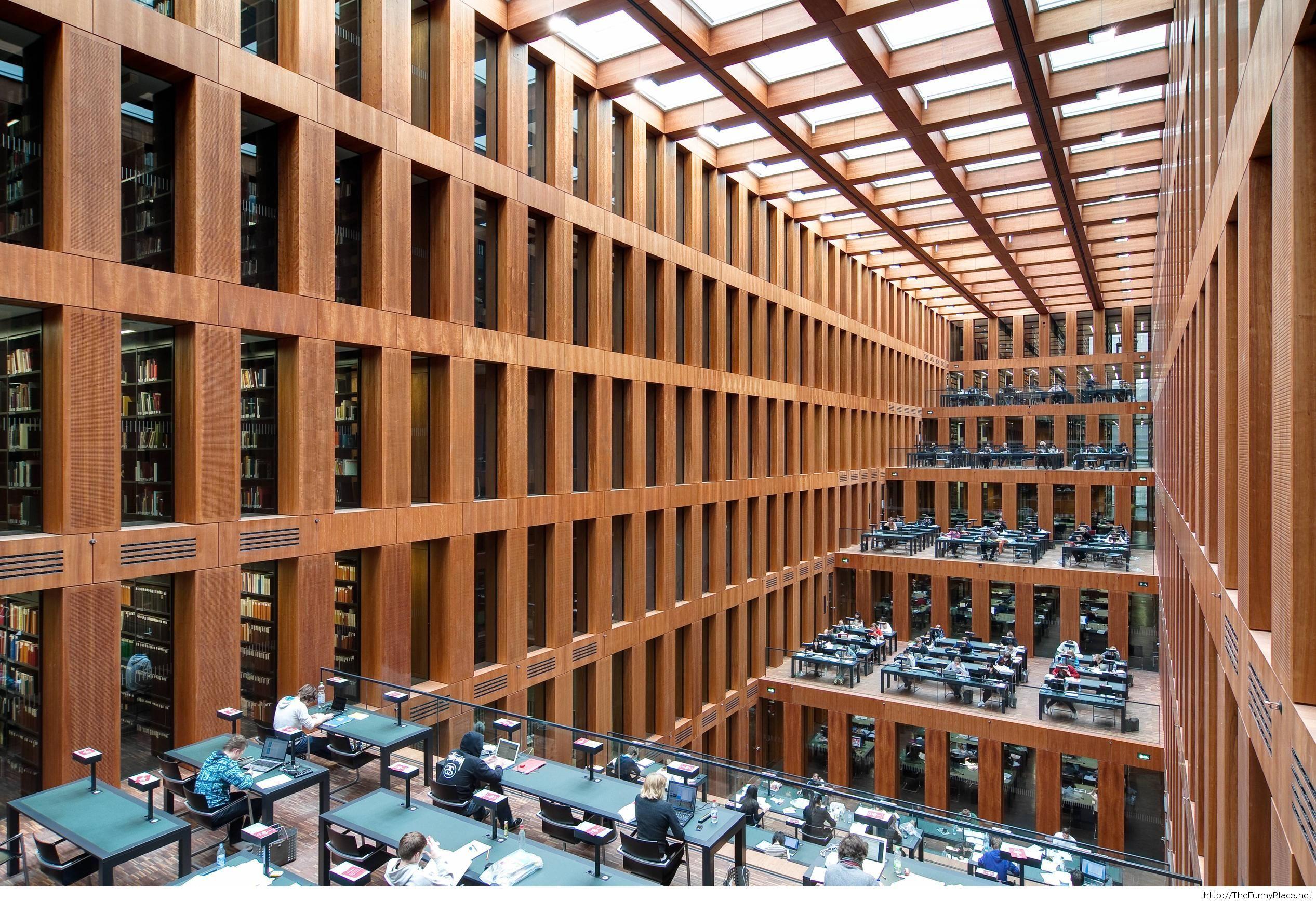 Library of Humboldt, Berlin University