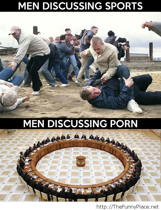 Men in different situations