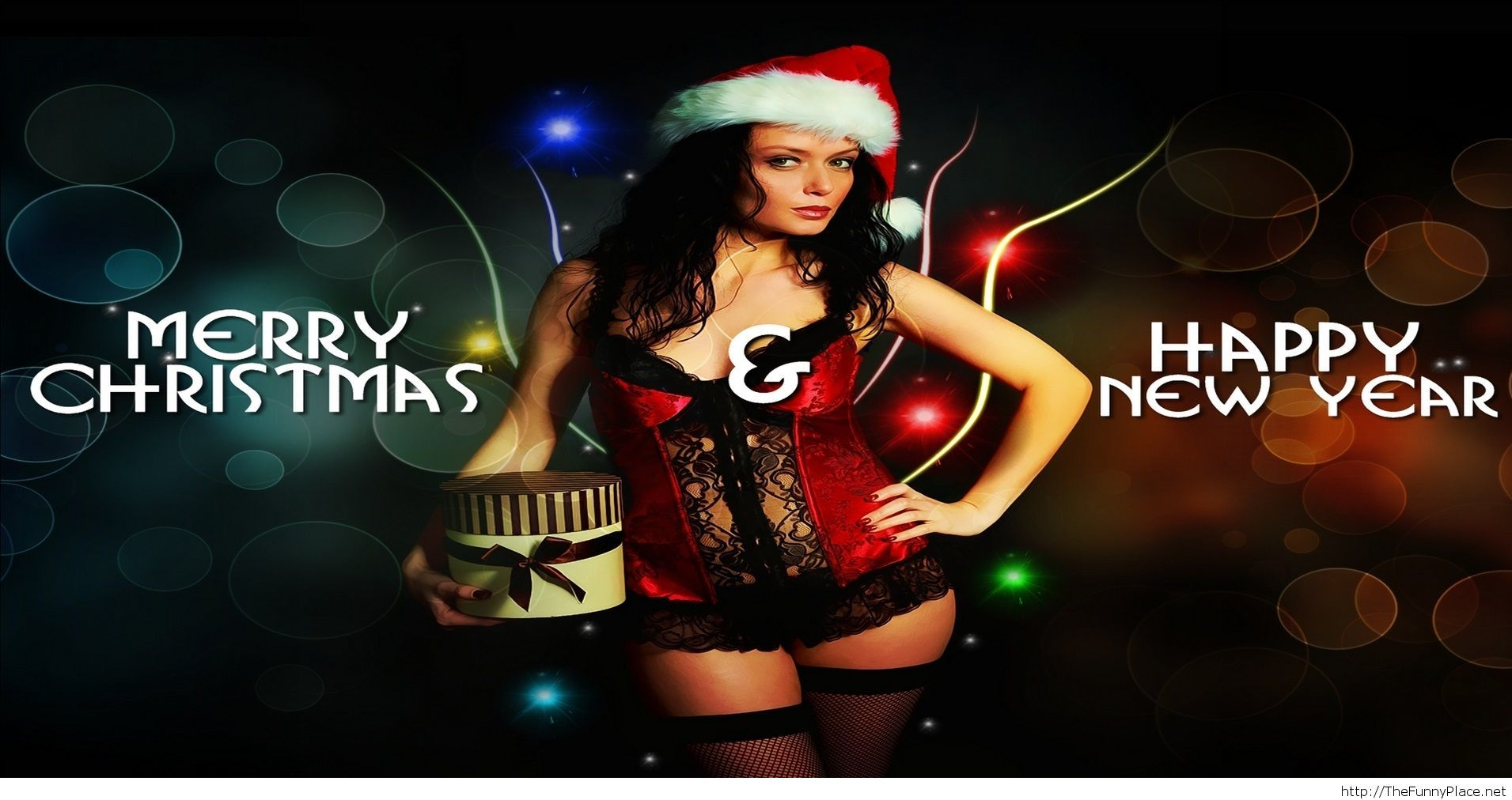 Merry Christmas and Happy new year sexy wallpaper ...