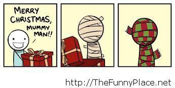 Merry Christmas comic