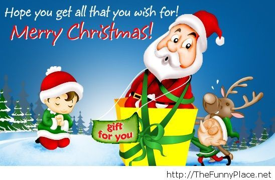 Merry Christmas gift quote