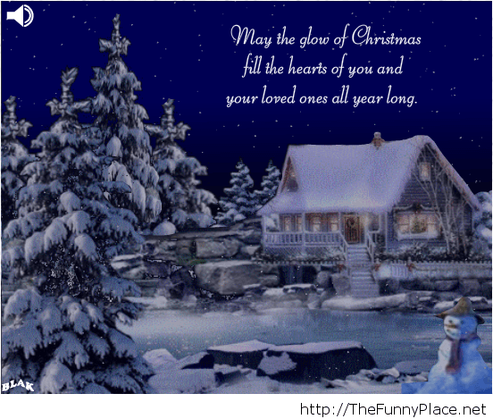 Merry Christmas quote card