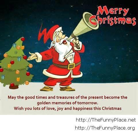 Merry Christmas santa wish