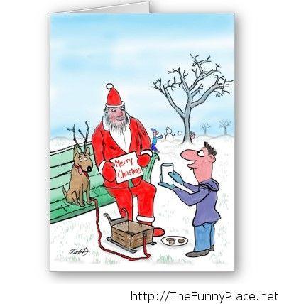 Funny Merry Christmas.Funny Santa Merry Christmas Thefunnyplace
