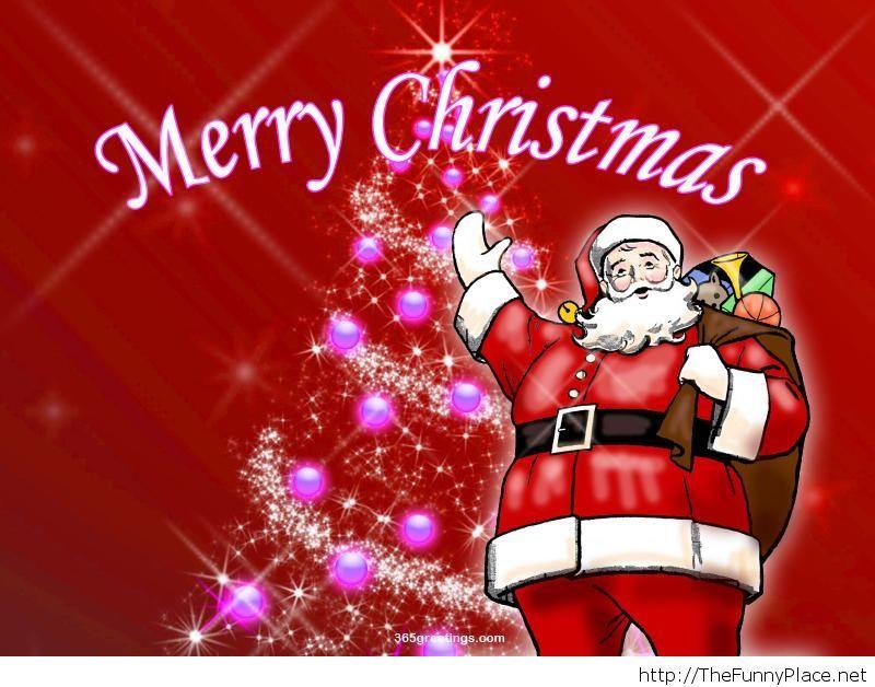 Merry Christmas Santa Wallpaper