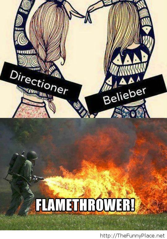One direction and Justin Bieber award
