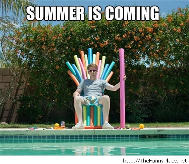 Summer 2014 is coming funny picture