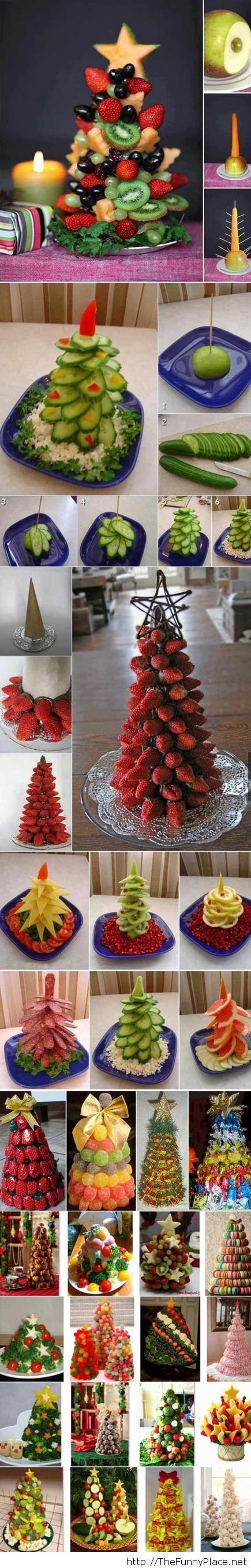 Tasty christmas trees