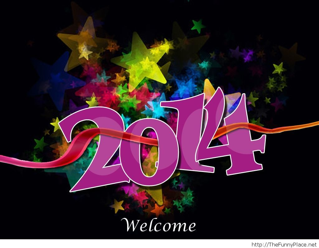 Welcome 2014 wallpaper Funny