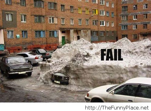 Winter fail picture