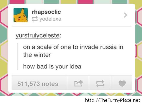 A very bad idea