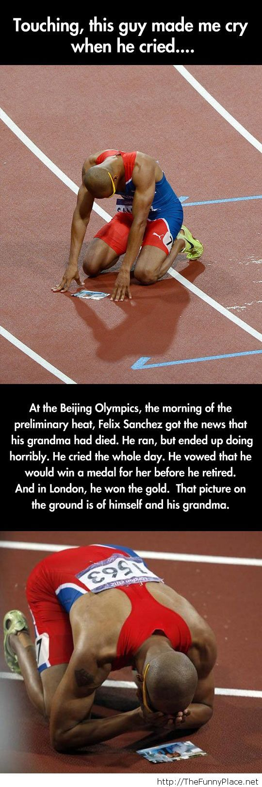 A very touching story...