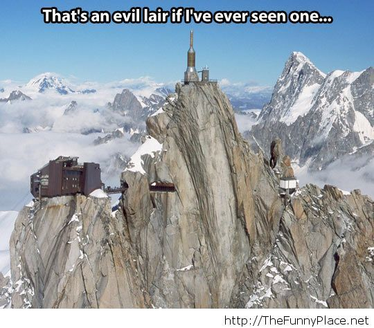 An evil lair for sure...