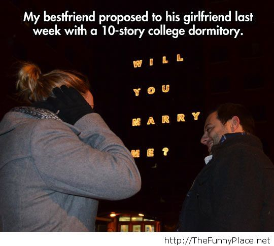 Awesome proposal...