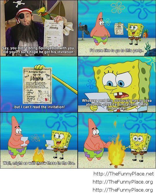 Classic SpongeBob…